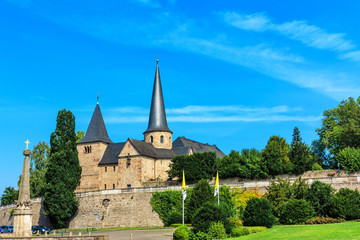 Michaelskirche in Fulda auf dem Domplatz