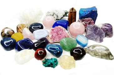 amethyst quartz garnet sodalite agate geological crystals
