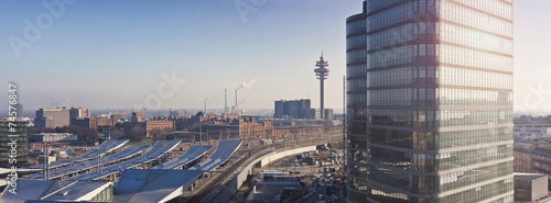 Foto op Canvas Wenen The new Main Railway Station of Vienna - Austria
