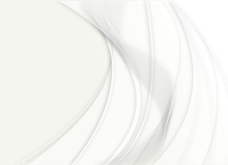 sfondo onda sfumata bianca
