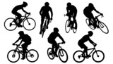 Photo: bike silhouettes