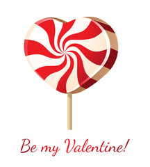 lollipop heart