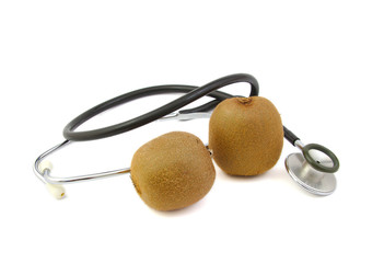 Kiwis and a stethoscope