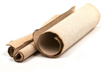 Antike Papierrolle
