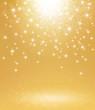 starlight gold background