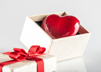 heart and gift