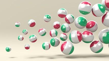 Insieme di sfere Italia