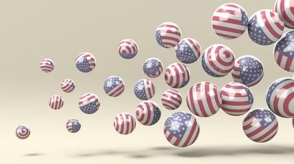 Insieme di sfere Usa