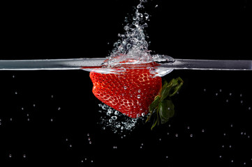 Fresa al agua