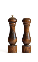 saltcellar and pepper mill