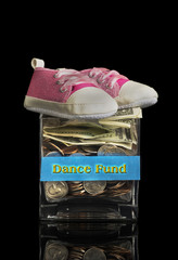 Dance Fund Jar.