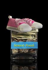 Dance Fund Jar.