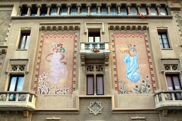 Casa Comella, Casino de Vic, Catalonia