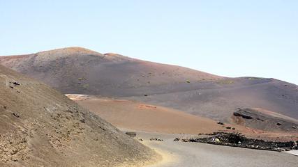 Paisaje volcánico, Lanzarote, Islas Canarias