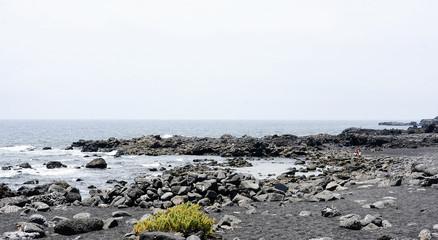 Playa de El Golfo, Lanzarote, Islas Canarias