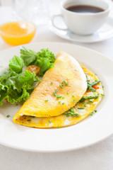 Asparagus Omelette