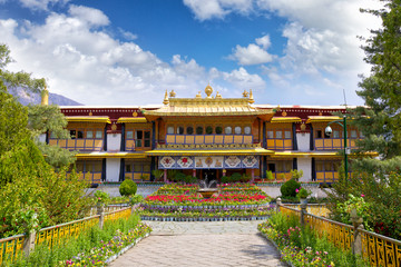 Norbulingka the Summer Palace of Dalai Lama, Lhasa, Tibet