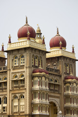 Detail of Mysore palace