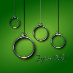 Joyeux Noël vert