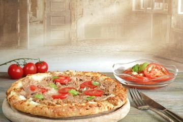 Pizza Thunfisch