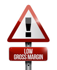 low gross margin warning sign