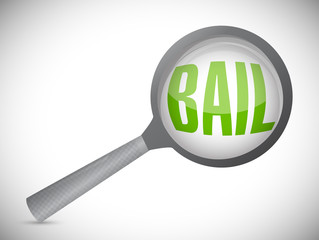 bail magnify search illustration design