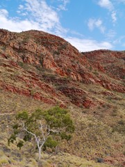 The Ormiston gorge in the Mcdonnell ranges in Australia