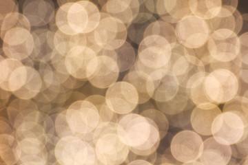 Defocused circle light background