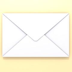 Envelope 3d illustration