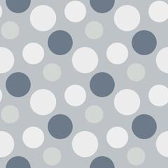 Pattern with green ,grey polka dots