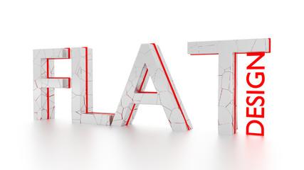 FLAT - flat design