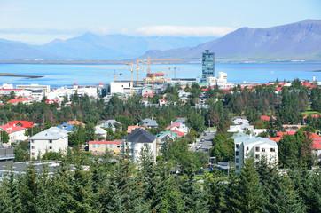 Виды города Рейкьявик, Исландия
