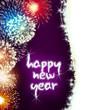 happy new year firework fireworks