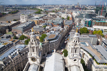 London view from St. Paul cathedral