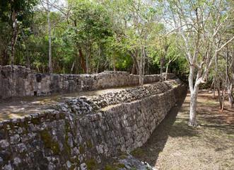 Mexico. Archeologic zone Kabah.
