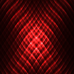 abstract red black background of different segments of polygons