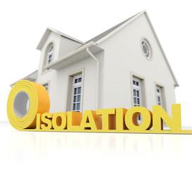 Isolation pour maison