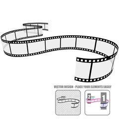 Vector Film Roll #7