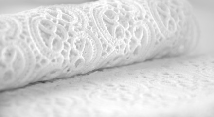 Smooth elegant white lace background