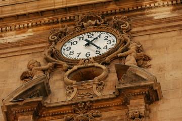 Detalle Reloj Torre Catedral de Murcia