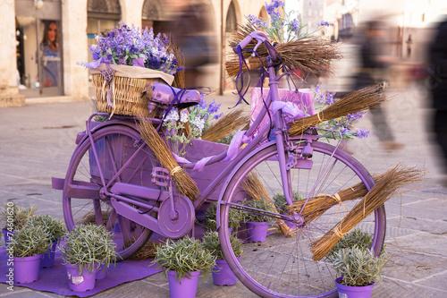 Papiers peints Velo Bicicletta vintage romantica