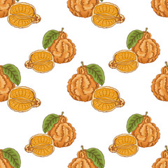 Seamless pattern with mineola