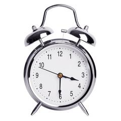 Half of the fourth on an alarm clock