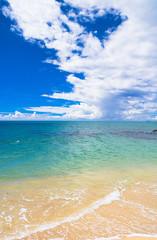 Sunshine Surf Serene Waters