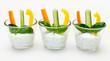 Gemüse-Sticks mit Quarkdip
