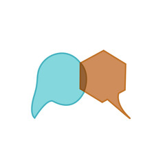 Vector speech bubble icons