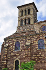 Brioude, la Basilica di Saint Julien - Alvernia