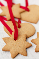 gingerbread Cookies to hang on the Christmas tree