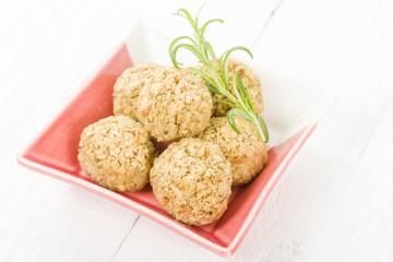 Stuffing - Sage and onion stuffing balls.