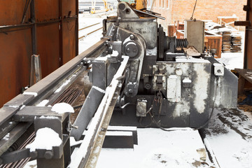 steel wires and cutting and bender machine